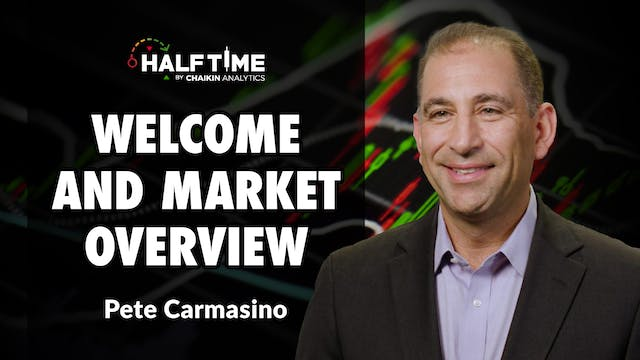 Welcome to the Show and Market Overvi...