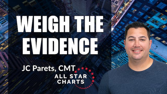 Weigh All The Evidence | JC Parets, C...