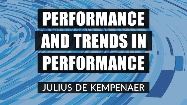 Performance And Trends In Performance...