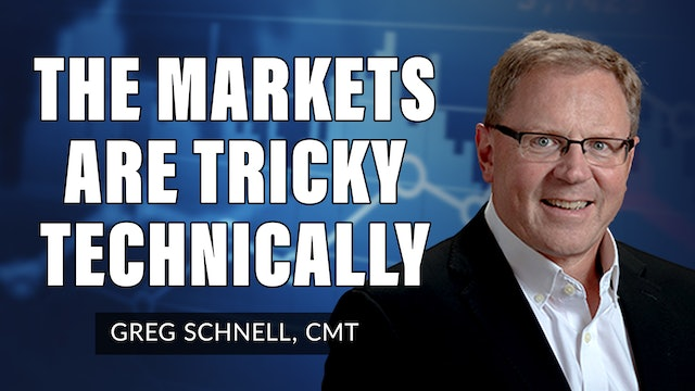 The Markets Are Tricky Technically  | Greg Schnell, CMT (10.13)