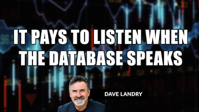 It Pays To Listen When The Database S...
