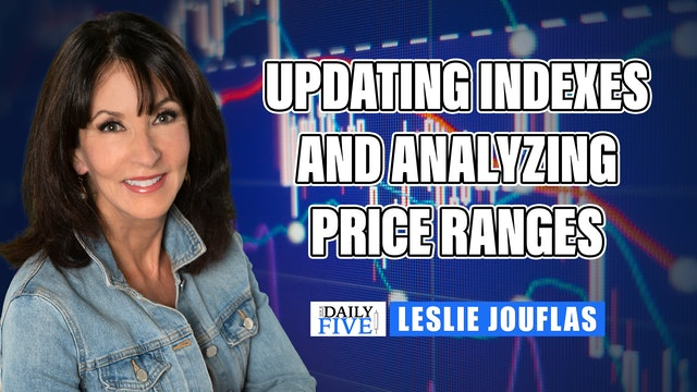 Updating Indexes And Analyzing Price Ranges | Leslie Jouflas, CMT