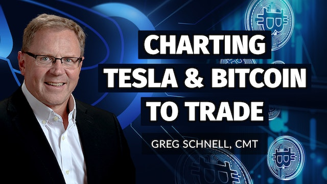 Charting Bitcoin and Tesla to Trade | Greg Schnell, CMT | (10.27)