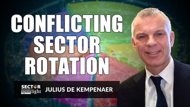 Conflicting Sector Rotations | Julius...