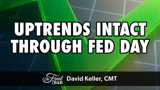Uptrends Intact Through Fed Day | Dav...