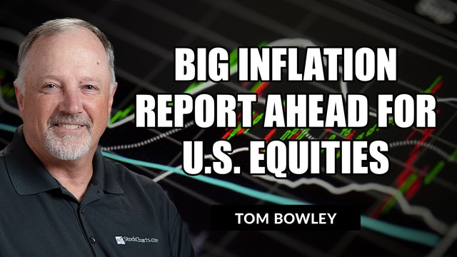 Big Inflation Report Ahead for U.S. Equities   Tom Bowley (09.14)