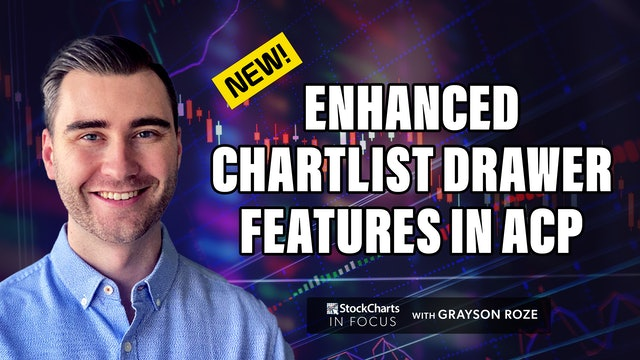 NEW! Enhanced ChartList Drawer Features In ACP   Grayson Roze