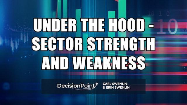 Under the Hood - Sector Strength & Weakness | Carl Swenlin, Erin Swenlin (07.19)