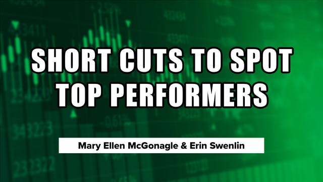 Shortcuts to Spot Top Performers | Er...