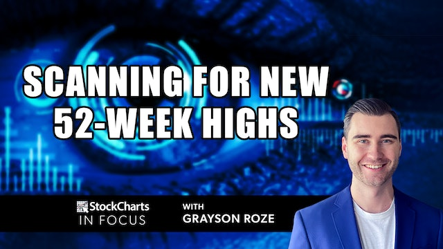 Scanning For New 52-Week Highs   Grayson Roze