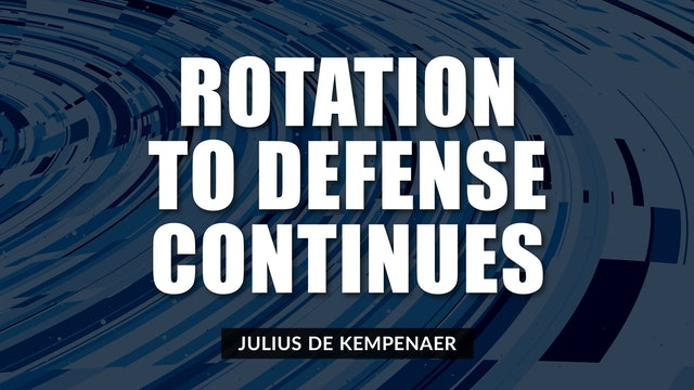 Rotation to Defense Continues | Julius de Kempenaer (05.25)