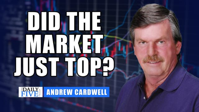 Did The Markets Just Top? | Andrew Ca...