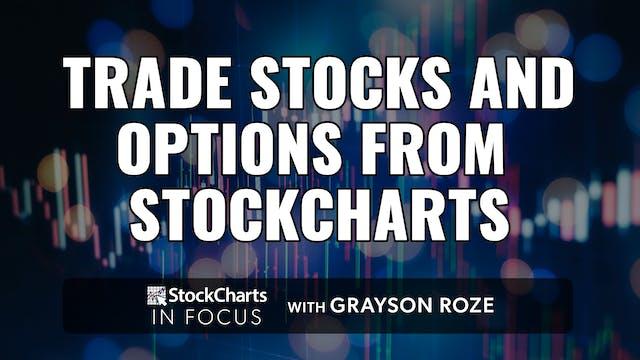 Trade Stocks & Options From StockChar...
