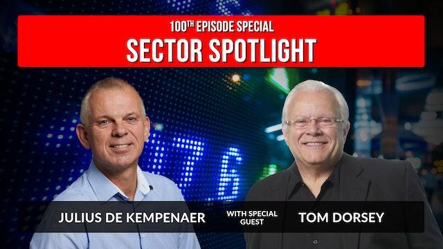 100th Episode Special with Guest Tom Dorsey | Julius de Kempenaer