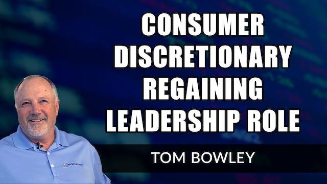 Consumer Discretionary Regaining Lead...