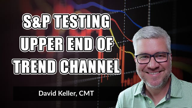 S&P Testing Upper End of Trend Channe...
