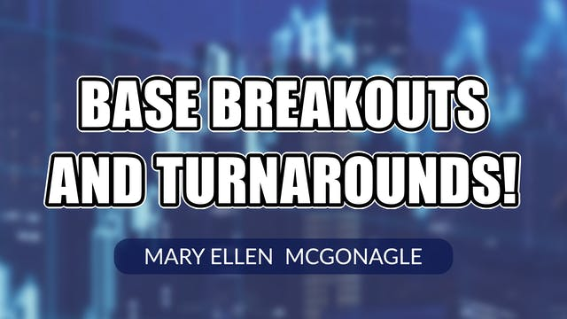 Base Breakouts and Turnarounds! | Mar...