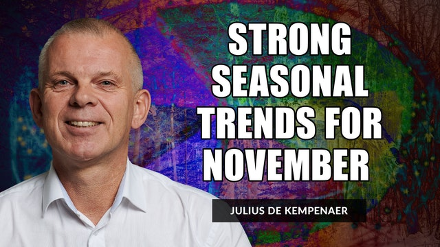 Strong Seasonal Trends For November | Julius de Kempenaer (10.26)