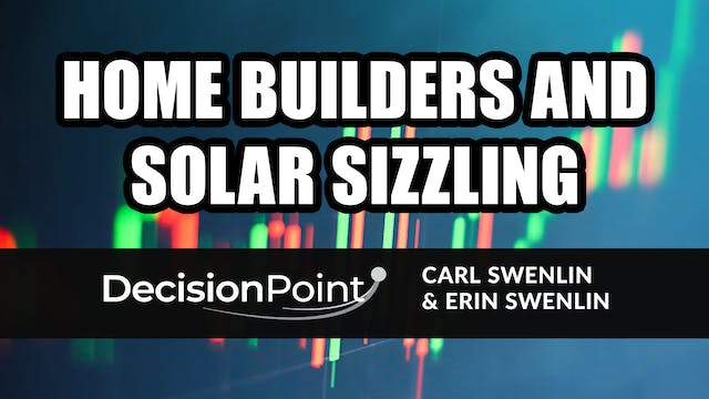 Homebuilders and Solar Sizzling (01.25)
