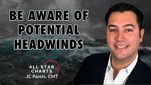 Be Aware of Potential Headwinds  | JC Parets, CMT (01.27)