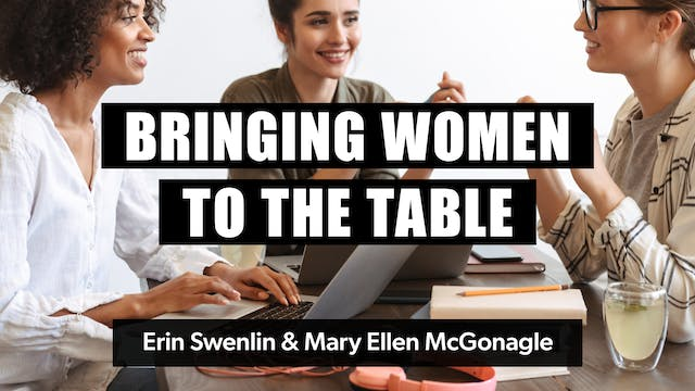 Bringing Women to the Table
