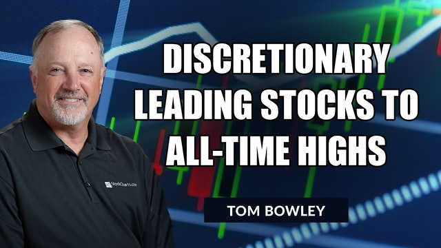Discretionary Leading Stocks To All-Time Highs   Tom Bowley (10.26)