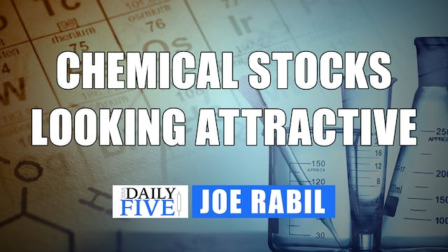 Chemical Stocks looking Attractive | ...