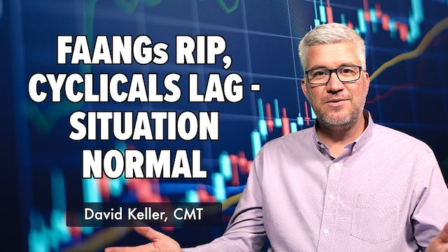 FAANGs Rip, Cyclicals Lag, Situation ...