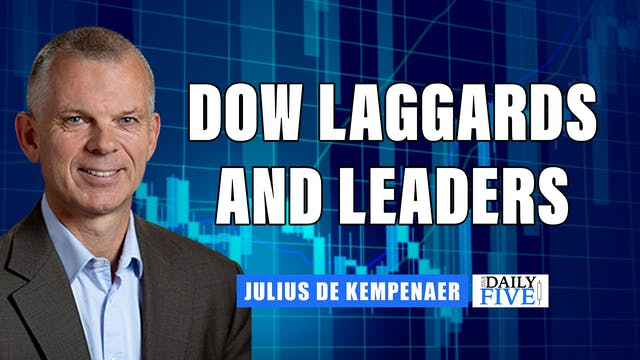 Dow Laggards And Leaders | Julius de ...