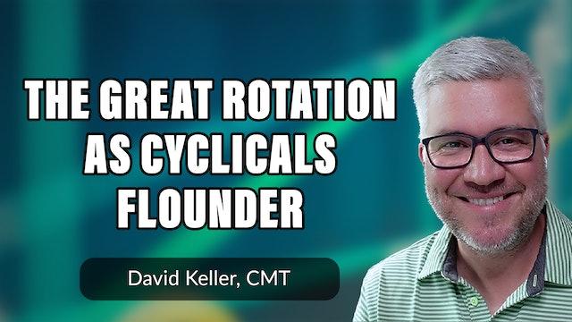 The Great Rotation as Cyclicals Flounder | David Keller, CMT (07.07)