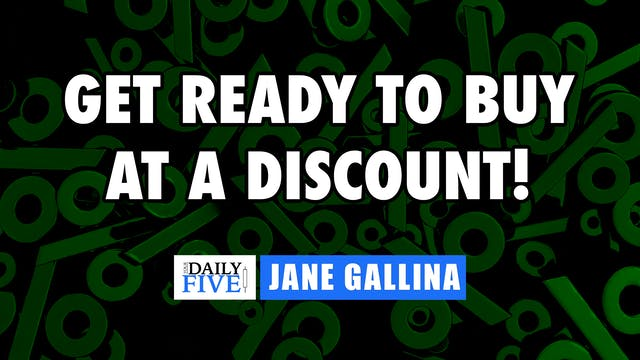 Get Ready To Buy At A Discount | Jane...