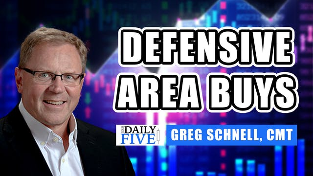 Defensive Area Buys | Greg Schnell, C...