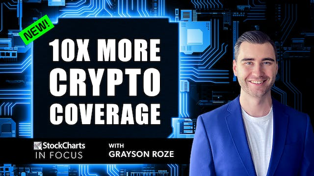 NEW! 10x More Cryptocurrency Coverage...