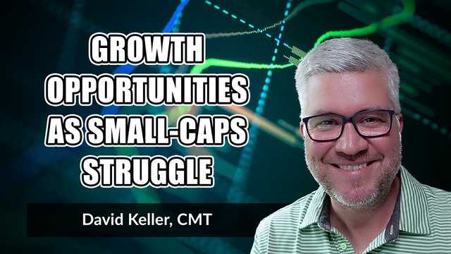 Growth Opportunities as Small Caps Struggle   David Keller, CMT (05.25)