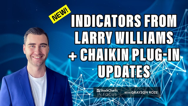 New Updates For Larry Williams & Chaikin Plug-Ins   StockCharts In Focus