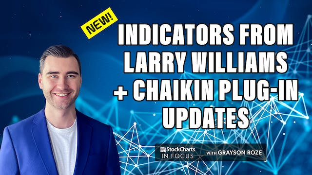 New Updates For Larry Williams & Chai...