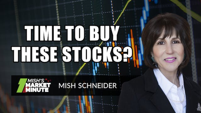 Time To Buy These Stocks? | Mish Schn...