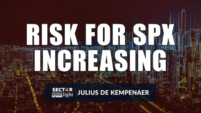 Risk for SPX Increasing | Julius de Kempenaer (07.06)