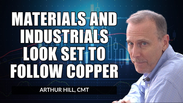 Materials and Industrials Look Set to Follow Copper | Arthur Hill, CMT (10.21)