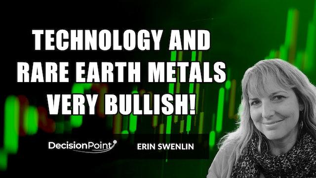 Tech and Rare Earth Metals Very Bullish! | Erin Swenlin (10.18)