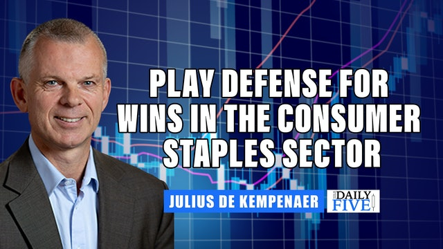 Play Defense For Wins In Consumer Staples Sector  | Julius de Kempenaer (09.22)