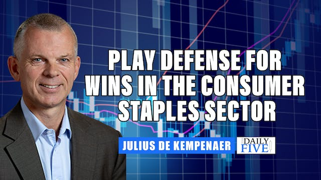 Play Defense For Wins In Consumer Sta...
