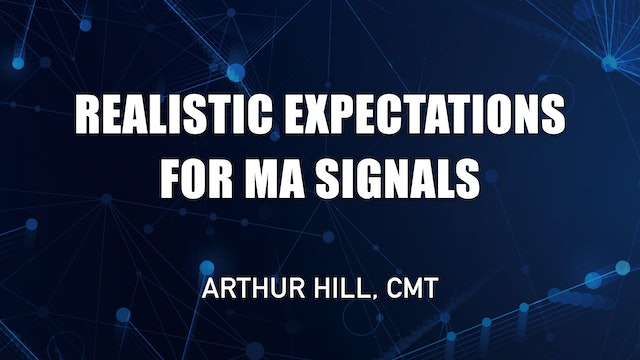 Realistic Expectations For Moving Average Signals   Arthur Hill, CMT