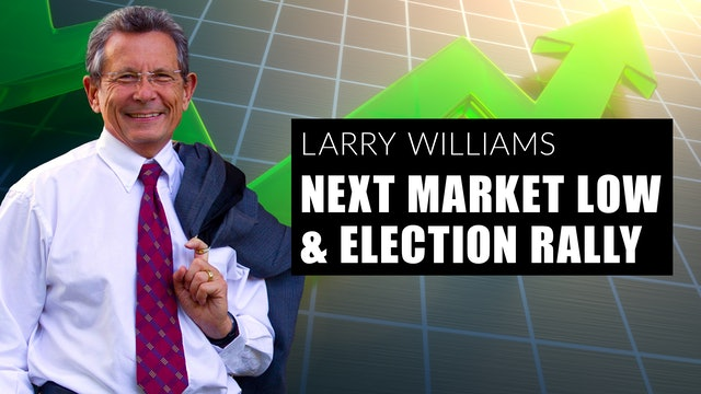 The Next Market Low and Election Rally (10.01.20)