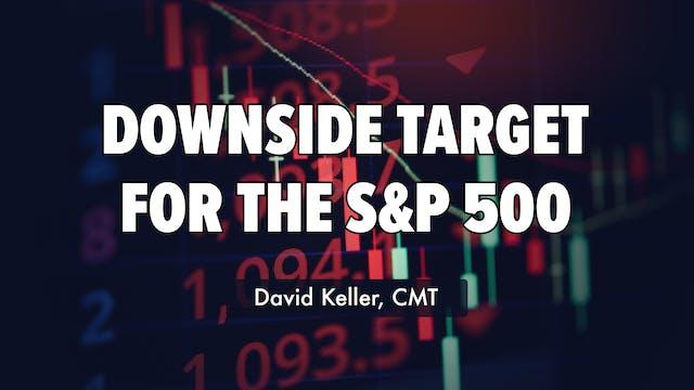 Downside Target for S&P 500 | David K...