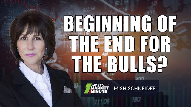 Is This The Beginning Of The End For The Bulls? | Mish Schneider  (09.10)