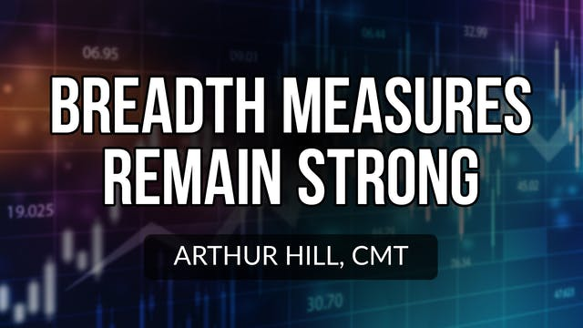 Breadth Measures Remain Strong | Arth...
