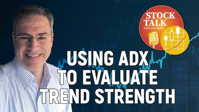 Using ADX To Evaluate Trend Strength ...