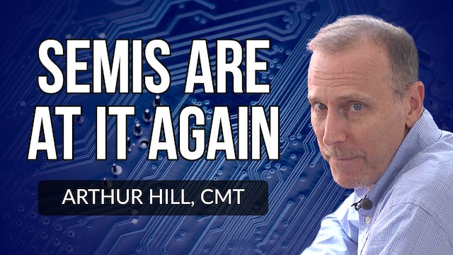 Semiconductors Are At It Again | Arthur Hill, CMT (09.16)