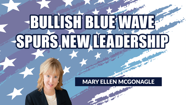 Bullish Blue Wave Spurs New Leadership (01.08)